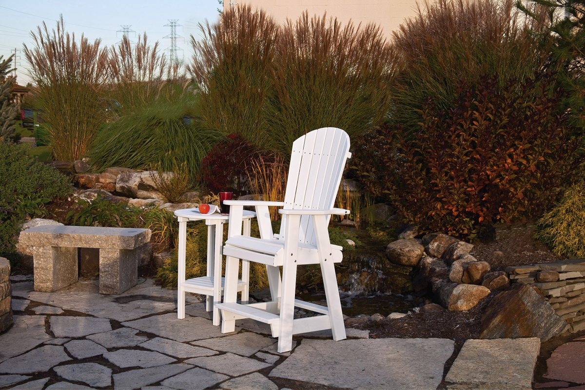 Outdoor poly patio furniture cloister cabinetry