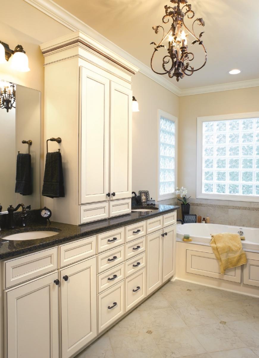 Bathroom design & remodeling   Cloister Cabinetry
